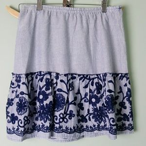 New Melissa paige size medium petite skirt